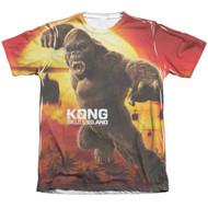 KONG: Skull Island - Kong Attacks Mens Sublimated Mens T-shirt
