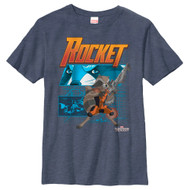Guardians of the Galaxy - Rocket Diagram - Youth T-shirt