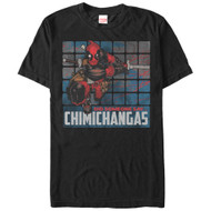 Deadpool - Chimichangas - Mens T-shirt