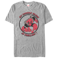 Deadpool - Common Sense - Mens T-shirt