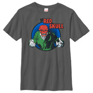 Red Skull - Badge - Youth - T-shirt
