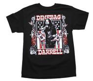 Dimebag Darrell - Guitars Flag - Mens T-shirt