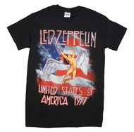 Led Zeppelin - America 1977 - Mens T-shirt
