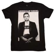 Johnny Cash - American Rebel - Mens - T-shirt