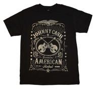 Johnny Cash - Black Label - Mens - T-shirt