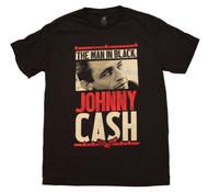 Johnny Cash - Man in Black - Mens - T-shirt