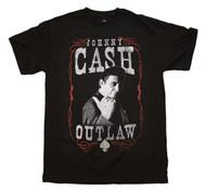 Johnny Cash - Outlaw - Mens - T-shirt
