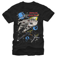 Star Wars   Blue Squad   Mens T-shirt  