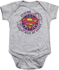 Superman | Future Man Of Steel | Infant Snapsuit
