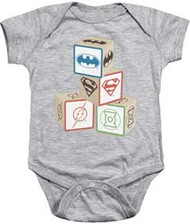 Justice League | Baby Block | Infant Snapsuit