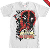 Deadpool | Insufferable | Mens T-shirt |