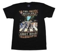 Beatles   Abbey Brick Photo   Men's T-shirt