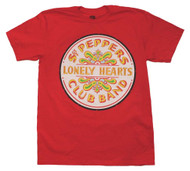 Beatles   Sgt. Peppers Club Band Seal   Men's T-shirt