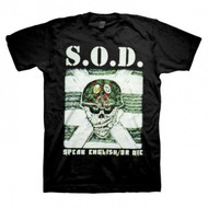 Stormtroopers of Death (S.O.D.) | Speak English or Die | Men's T-shirt