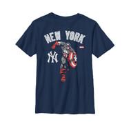 Marvel | MLB | New York Yankees | City Champ | Youth T-shirt