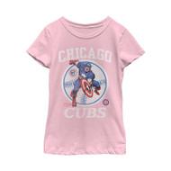 Marvel | MLB | Chicago Cubs | Captain Cub | Womens T-shirt