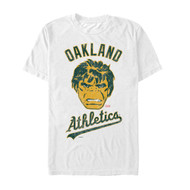 Marvel | MLB | Oakland A's | Oakland Hulk | Mens T-shirt