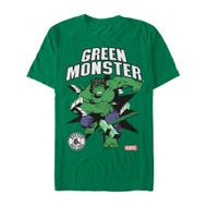 Marvel | MLB | Boston Red Sox | Green Monster | Mens T-shirt