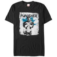 Punisher   In Grunge   Men's T-shirt