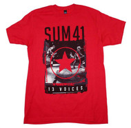 Sum 41 | Red Star | Men's T-shirts