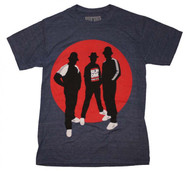RUN DMC | Silhoutte Circle | Men's T-shirt