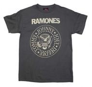 Ramones | Distressed Crest | Men's T-shirt