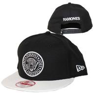 Ramones | Seal Black and White | New Era Snapback