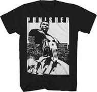 Punisher   Try and Run   Mens T-shirt