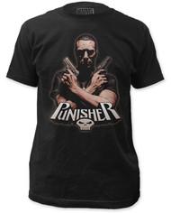Punisher   Crossfire  Mens T-shirt