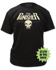 Punisher   Glowing Logo   Mens T-shirt