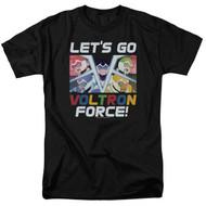 Voltron : Legendary Defender   Let's Go   Men's T-shirt