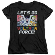 Voltron : Legendary Defender   Let's Go   Women's T-shirt