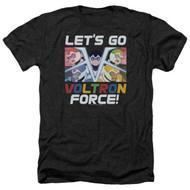 Voltron : Legendary Defender   Let's Go   Heather Men's T-shirt