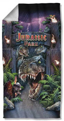 Jurassic Park   Welcome To The Park   Towel