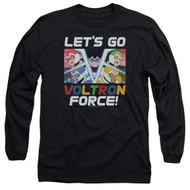 Voltron : Legendary Defender   Lets Go   Longsleeve