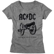 AC/DC | About To Rock Again | Women's T-shirt