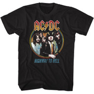 AC/DC | Highway To Hell Tri Color | Men's T-shirt