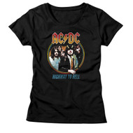 AC/DC | Highway To Hell Tri Color | Women's T-shirt
