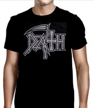 Death   Silver Logo   Men's T-shirt
