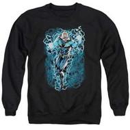 Black Lightning | Black Lightning Bolts | Crewneck Sweatshirt