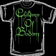 Children of Bodom | Green Dripping Logo | Men's T-shirt