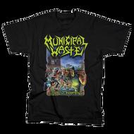 Municipal Waste | Art of Partying | Men's Black T-shirt
