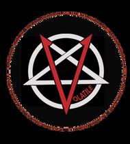 Volatile | Pentagram | 1  inch pin