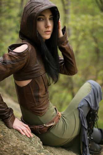 Heiress Crop Jacket 2.0 (Full Leather)  Medium/Large