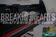 Breakin' Hearts v.2 Decal