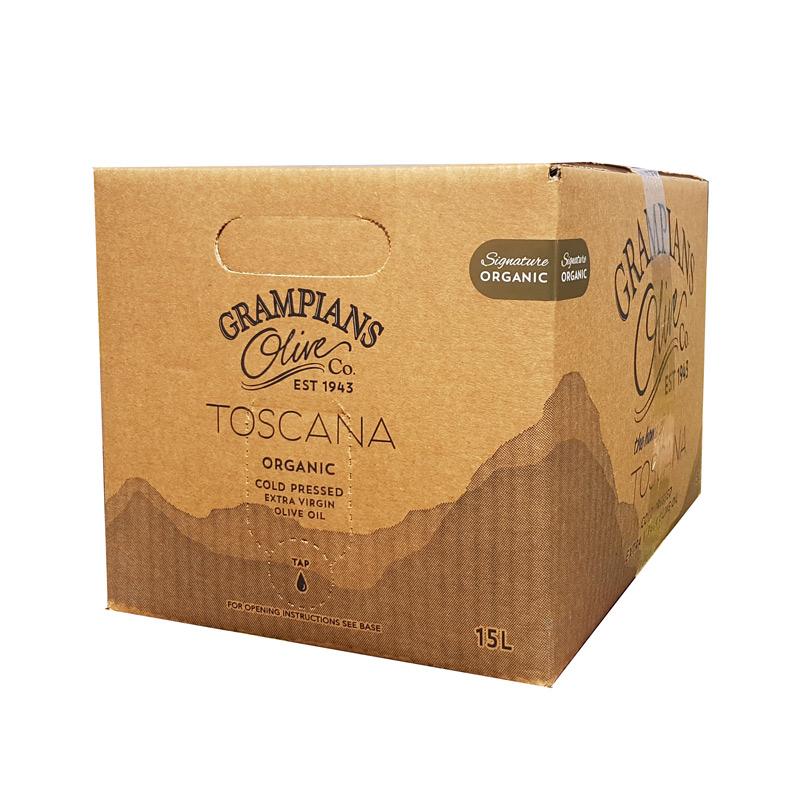 15L cask organic olive oil