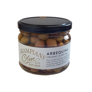 Arbequina organic olives