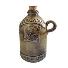 toscana ceramic olive oil jug