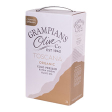 2L cask Toscana signature Australian premium organic cold pressed extra virgin olive oil