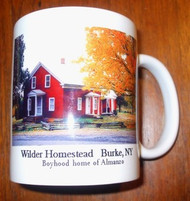 Mug- Home of Almanzo Wilder